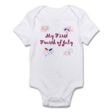 My First July 4th Infant Bodysuit