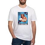 Buy War Bonds Fitted T-Shirt