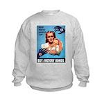 Buy War Bonds Kids Sweatshirt