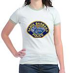 Santa Barbara PD Jr. Ringer T-Shirt