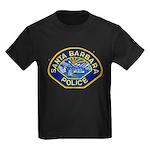 Santa Barbara PD Kids Dark T-Shirt