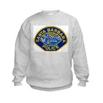 Santa Barbara PD Kids Sweatshirt