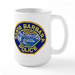 Santa Barbara PD Large Mug