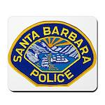 Santa Barbara PD Mousepad