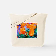Tip Toe n' Tulips Tote Bag