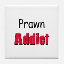 Prawn Addict Tile Coaster