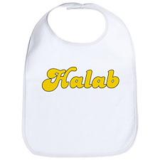 Retro Halab (Gold) Bib