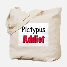 Platypus Addict Tote Bag