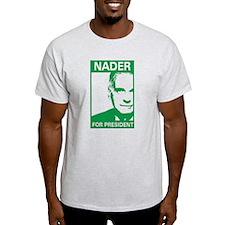 nader for pres. T-Shirt