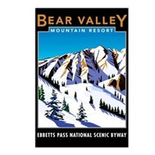 Bear Valley Resort - Postcards (Package of 8)