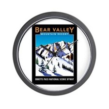 Bear Valley Resort - Wall Clock