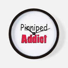 Pinniped Addict Wall Clock