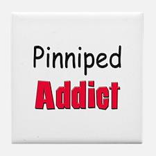 Pinniped Addict Tile Coaster