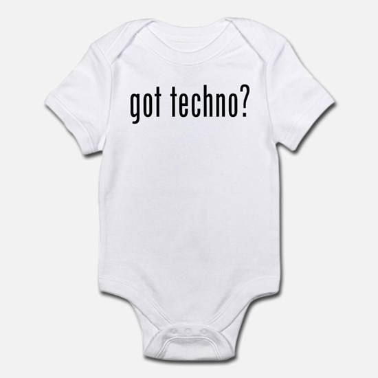 got techno? Infant Bodysuit