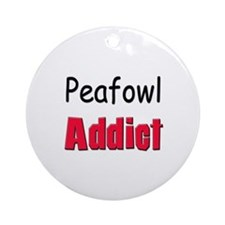 Peafowl Addict Ornament (Round)