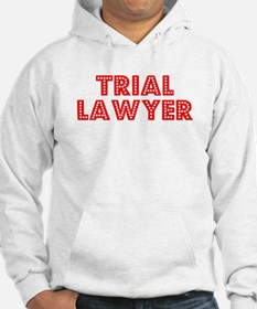 Retro Trial Lawyer (Red) Hoodie