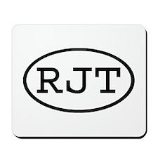RJT Oval Mousepad
