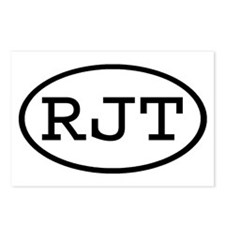 RJT Oval Postcards (Package of 8)