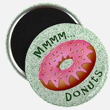 Mmmm Donuts Magnet