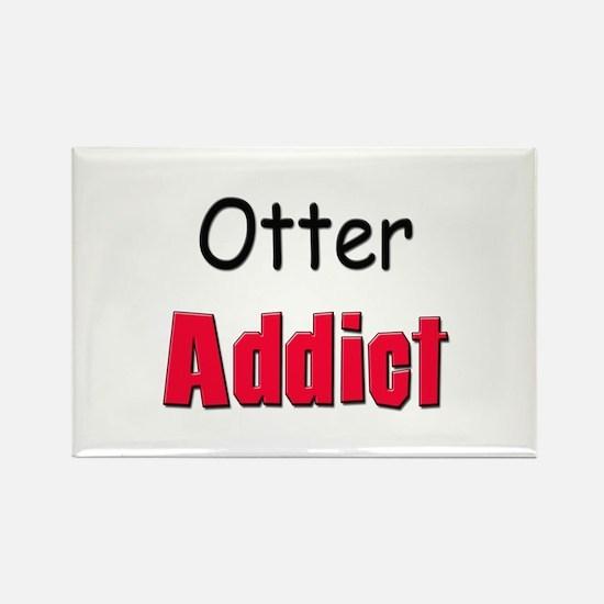 Otter Addict Rectangle Magnet