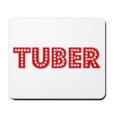 Retro Tuber (Red) Mousepad