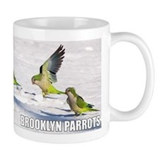 Wild Quaker Parrots in the Snow Coffee Mug