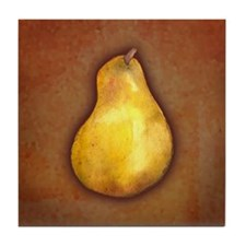 Yellow Pear Tile Coaster
