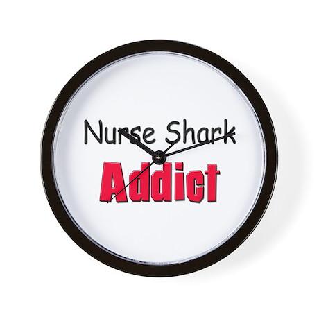 Nurse Shark Addict Wall Clock