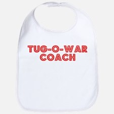Retro Tug-o-war C.. (Red) Bib