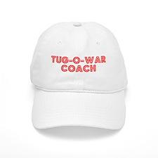 Retro Tug-o-war C.. (Red) Baseball Cap