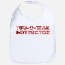 Retro Tug-o-war I.. (Red) Bib