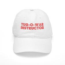 Retro Tug-o-war I.. (Red) Baseball Cap