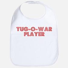Retro Tug-o-war P.. (Red) Bib