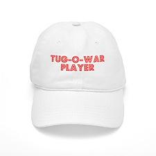 Retro Tug-o-war P.. (Red) Baseball Cap