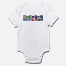 Massage Therapy Blocks Infant Bodysuit