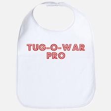Retro Tug-o-war Pro (Red) Bib