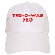 Retro Tug-o-war Pro (Red) Baseball Cap