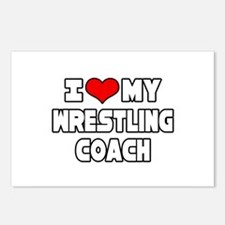 """I Love My Wrestling Coach"" Postcards (Package of"