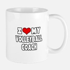 """I Love My Volleyball Coach"" Mug"