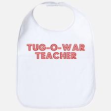 Retro Tug-o-war T.. (Red) Bib