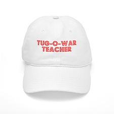 Retro Tug-o-war T.. (Red) Baseball Cap