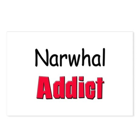 Narwhal Addict Postcards (Package of 8)