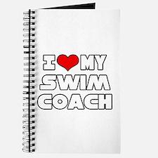 """""""I Love My Swim Coach"""" Journal"""