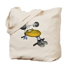 Smiley Weights Tote Bag