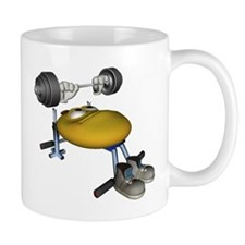 Smiley Weights Mug