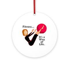 Fitness Ornament - Life