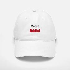 Moose Addict Baseball Baseball Cap