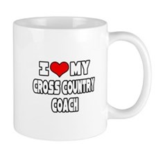 """I Love My X-Country Coach"" Mug"