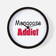 Mongoose Addict Wall Clock