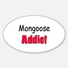 Mongoose Addict Oval Decal
